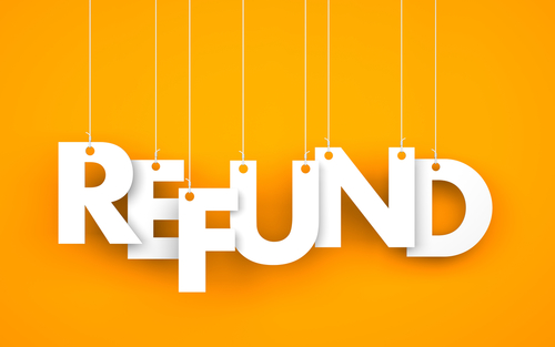Image result for customer refund