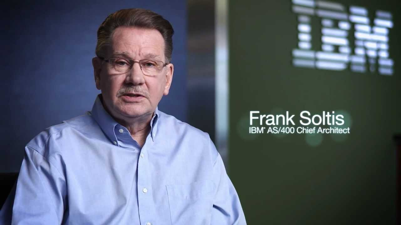 """IBM i Designed For The Cloud"""" – Frank Soltis - Source Data Products"""